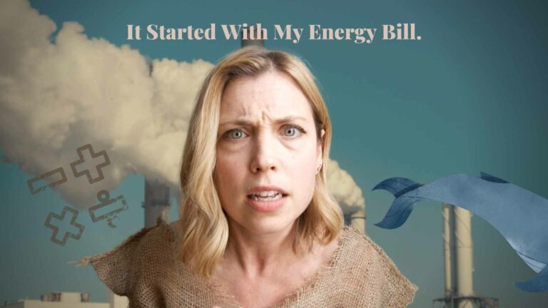 It Started with my energy bill solar video for marketing